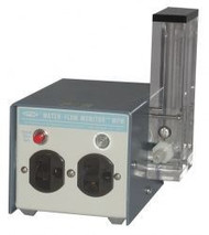 A photograph of a 20902 water-flow monitor™ sensor with two outlets, 1500 w, 120 v.