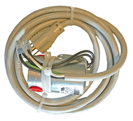 A photograph of a 20905 water supply solenoid valve for use w/ water and spill monitors.