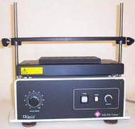 A photograph of a 21300 glas-col multi-pulse vortexer, base unit w/ 2 cartridges.