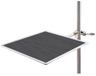Support Plate w/ Rubber Mat