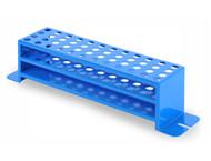 Photograph of Full Size Test Tube Rack for Ohaus Shaker Platforms, 10-14 mm tubes.
