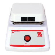 Photograph of Ohaus Mini Fixed Temperature Hotplate, front facing.