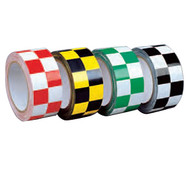 A photograph of a 06357 checkerboard laminated tape.