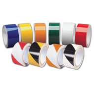 A photograph of a 06371 engineer grade reflective tape in various colors and patterns.