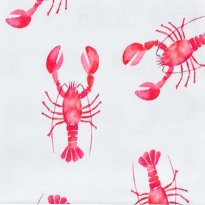 Fabric by the Yard - lobsters