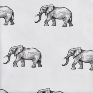 Fabric by the Yard - elephants