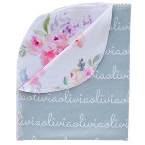 Personalized Double-Sided Polyester Blanket - sage (LIMITED EDITION)