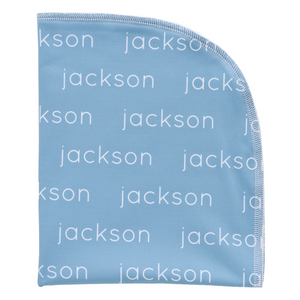 Personalized Single-Sided Polyester Blanket - glacier (LIMITED EDITION)