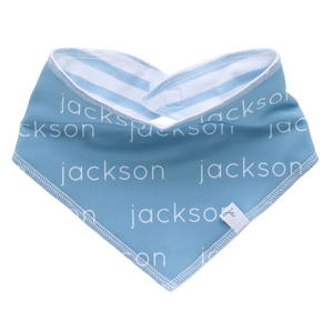 Bandana Bib - Personalized Polyester - glacier (LIMITED EDITION)