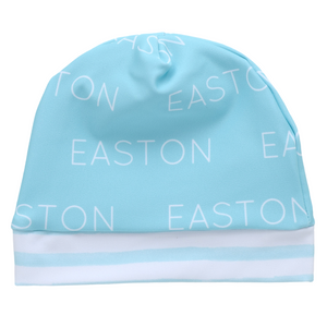 Beanie - Personalized Beanie Polyester - aqua (LIMITED EDITION)
