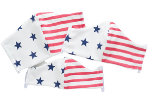 Mask - Stylish Masks with Filter Pocket – American Flag