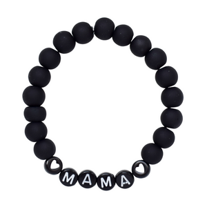 Mama Bead Bracelets – black collection