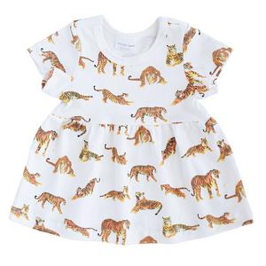 Sleeved Dresses - tigers