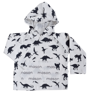 Personalized Pocket Hoodie - dinosaurs