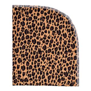 Organic Blanket - leopard