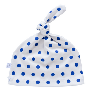 Knotted Hat - polka dots (7 colors)