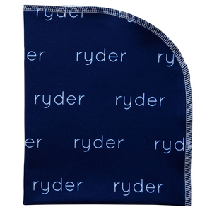 Personalized Polyester Swaddle Blanket