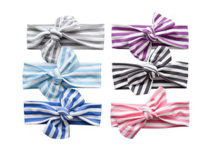 Knotted Headwraps - Stripes