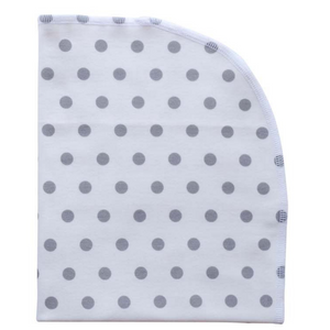 Organic Blanket - polka dots (7 colors)