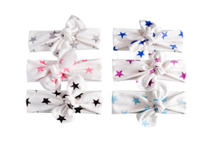 Knotted Headwraps - stars