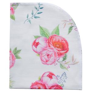 Organic Blanket - peony