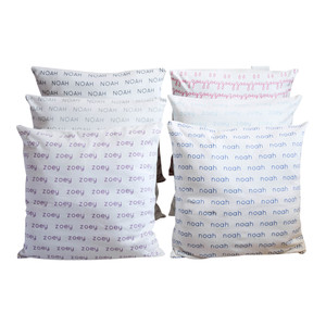 Personalized Pillow Cover - 6 colors