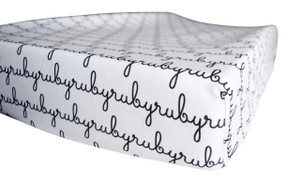 Personalized Changing Pad Sheet