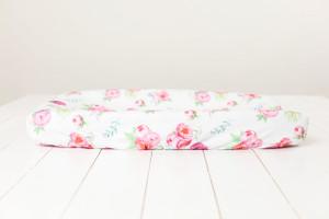 Organic Changing Pad Sheet - 3 florals