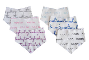 Personalized Drool Bibs