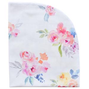 Organic Blanket - blooming garden