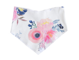 Bandana Bib - midnight blush