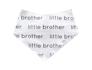 Bandana Bib - Little Brother