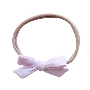 Small Schoolgirl - seersucker pink (SALE)