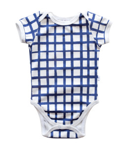 Snapped Bodysuit - grid (2 colors)