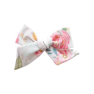 Small Pinwheel - peachy floral