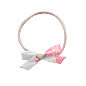 Small Schoolgirl - peachy floral
