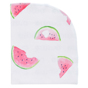Organic Blanket - watermelon
