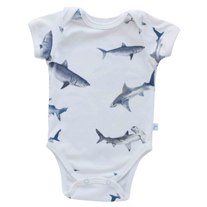 Snapped Bodysuit - sharks