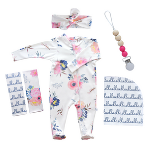 Personalized Hospital Essentials Combo - midnight blush