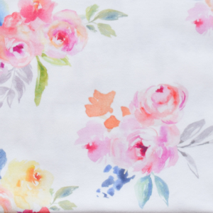 Fabric by the Yard - blooming garden