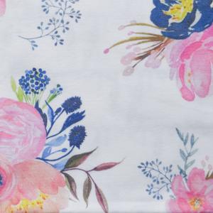 Fabric by the Yard - midnight blush