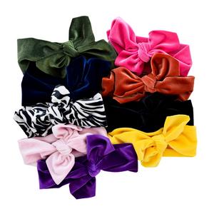 Velvet Knotted Headwrap