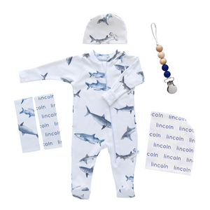 Personalized Hospital Essentials Combo - sharks