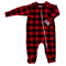 Buffalo Plaid Footie available under One-Piece