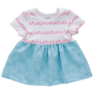 Personalized Sleeved Dress - dottie  (LIMITED EDITION)