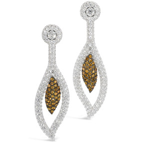Yellow Diamonds 1.32 cts; Near Colorless Diamonds 6.12 cts - details below