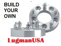 LugmanUSA Lifetime 5-Lug Adapter - Build Your Own