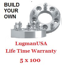 LugmanUSA Life Time Adapter - Build Your Own 5x100