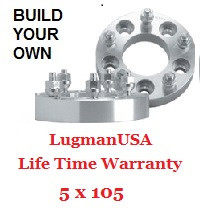 LugmanUSA Life Time Adapter - Build Your Own 5x105