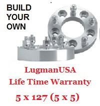 "LugmanUSA Life Time Adapter - Build Your Own 5x127 (5x5"")"